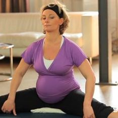 Yoga für Schwangere: Rücken stabilisieren
