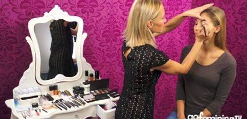 Metallic Make-up: So schminken Sie den Trend-Look
