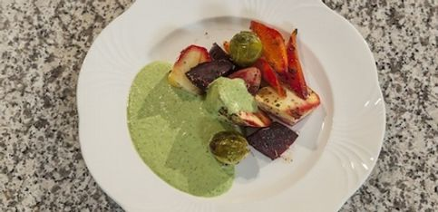 Bio aus der Region: Kochen mit Alexa Iwan - Ofengemüse