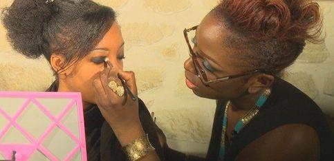 Make-up party spéciale peaux noires chez aufeminin!