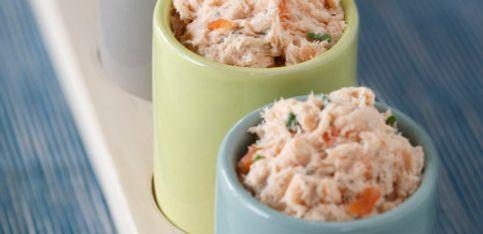 Recette légère: les rillettes de saumon