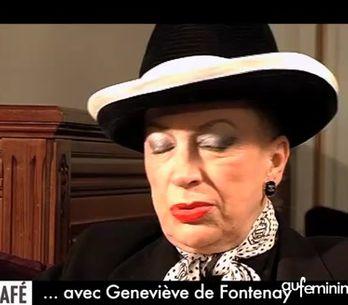 Le café... avec Geneviève de Fontenay
