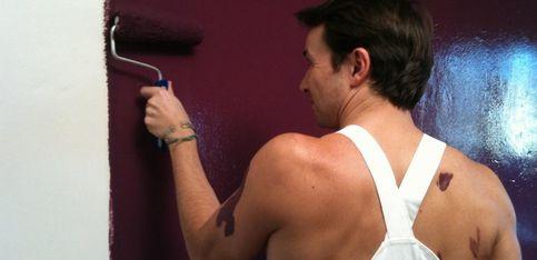 So sexy! Les pinceaux à poils s'occupent de vos murs