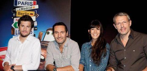 Cars 2: Dans les coulisses du doublage avec Guillaume Canet et Mélanie Doutey