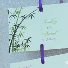 Salon du mariage: les faire-part qui vont cartonner en 2012!