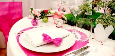 Déco de mariage en vidéo: le printemps à table