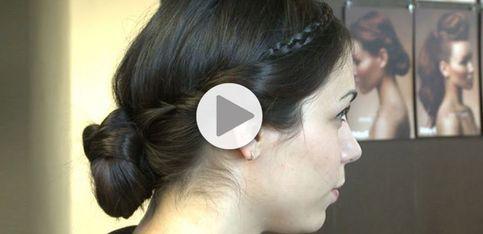 Tuto coiffure: le chignon torsadé step by step