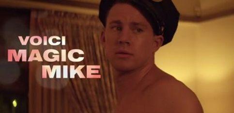 Le strip tease au masculin dans Magic Mike
