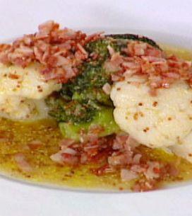 Ensalada tibia de coliflor