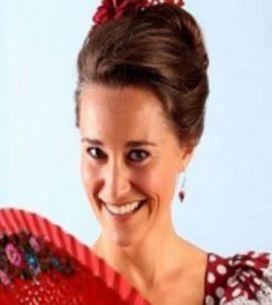 Pippa Middleton aprende a bailar flamenco