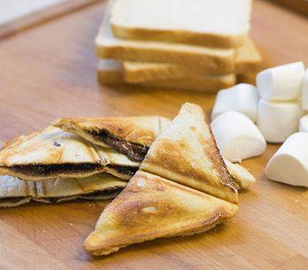 Sándwich de malvavisco: una opción muy original para el cumple de los peques