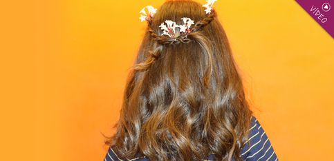 Peinados Disney: la princesa Aurora adolescente (en Maléfica)