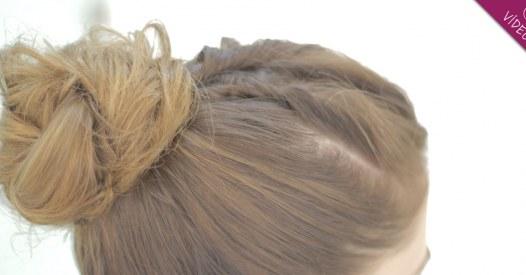 Peinados de novia con moріў±o alto