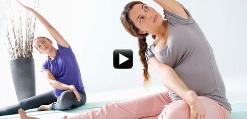 Video/ Stretching in gravidanza per star bene con il proprio corpo