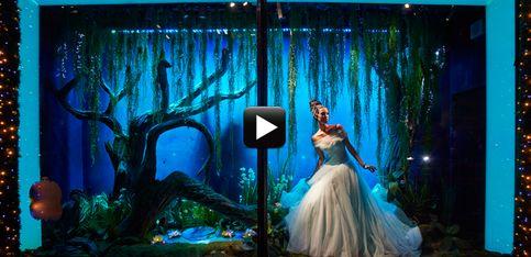 Video/ Gli abiti delle principesse Disney da Harrods