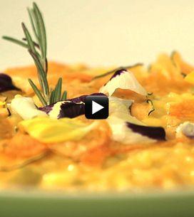 A scuola di cucina/ La ricetta del risotto di zucca