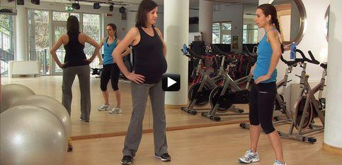 Video/ In forma in gravidanza! Ecco gli esercizi per il bacino per il terzo trimestre