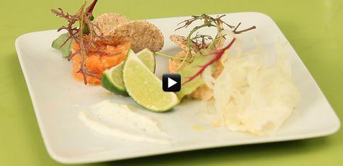 Video/ A scuola di cucina: un piatto leggero ma gustoso? Ecco la tartare di trota salmonata
