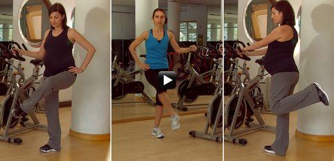 Video/ In forma in gravidanza! Gli esercizi per le gambe da fare nel terzo trimestre