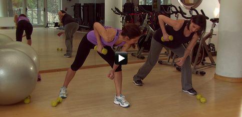 Video/ In forma in gravidanza! Come tonificare le braccia durante il terzo trimestre