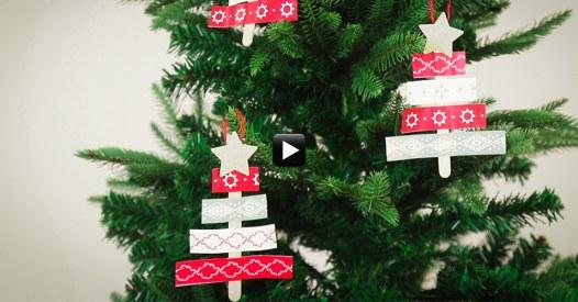 Decorazioni Fai Da Te Per Albero Di Natale : Come realizzare le decorazioni per l albero di natale fai da te