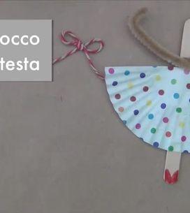 Riciclo creativo per i bambini: trasformare i bastoncini in ballerine!