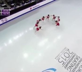 Wow, la performance sul ghiaccio più bella mai vista!