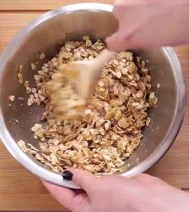 ¡Barritas de cereales hechas en casa!