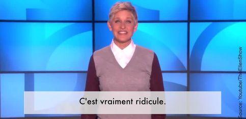 Le coup de gueule d'Ellen DeGeneres