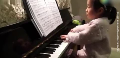 Le talent de cette petite fille est à couper le souffle!