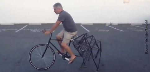 Voici une invention qui devrait ravir les fans du Tour de France!