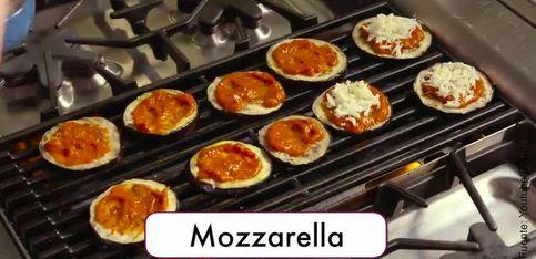 Berenjenas de pizza, el entrante perfecto