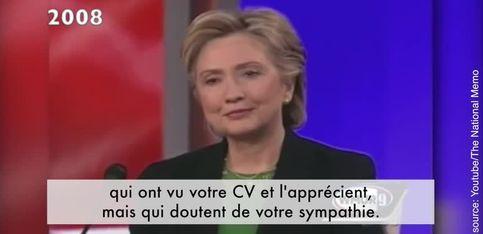 Hillary Clinton, victime de sexisme depuis 40 ans...