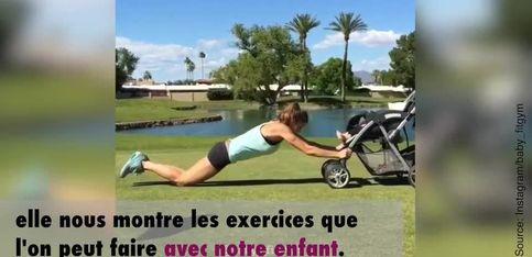 Faire du sport avec ses jeunes enfants, c'est possible!
