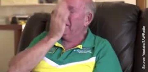 Regardez la réaction touchante des grands-parents d'un champion olympique