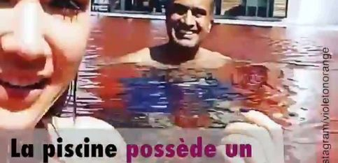 De l'eau rouge pour se baigner?