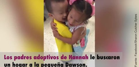 ¡Conmovedor reencuentro de dos niños huérfanos adoptados!