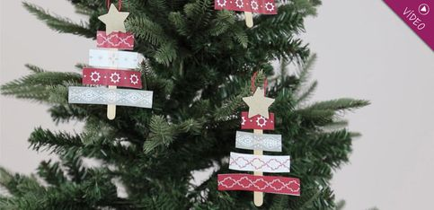 Adornos DIY: manualidades navideñas para los más peques