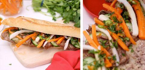 Vietnamesische Baguettes sind DER neue Foodtrend: So macht ihr 'Bánh Mì' selbst!
