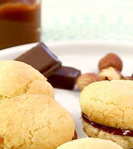 Pastas de avellana y chocolate... ¡Irresistibles!