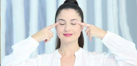Yoga facial: cómo hacer un masaje efecto lifting