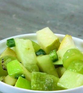 Salada de frutas verde: aprenda a fazer