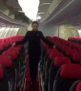 Essa é a melhor performance de Toxic num avião