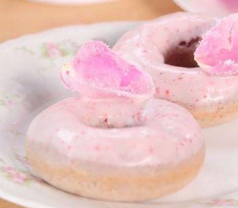 Donuts rosa: veja a receita