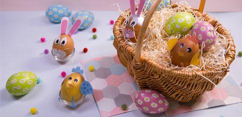 Atelier bricolage: customiser des œufs pour Pâques
