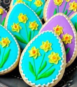 Esses biscoitinhos para a páscoa são lindos e deliciosos