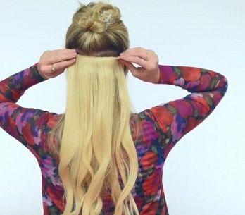 Coloque, você mesma, o aplique no cabelo, veja como