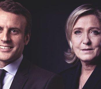 Les discours de Marine Le Pen et Emmanuel Macron