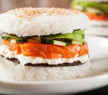 Como fazer Hambúrguer de Sushi