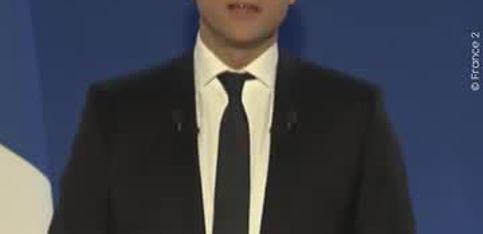 Second tour: les discours d'Emmanuel Macron et Marine Le Pen